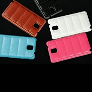 Sofa Style PU Leather Protective Case For Samsung Galaxy Note 3 N9000 --- Color:Black