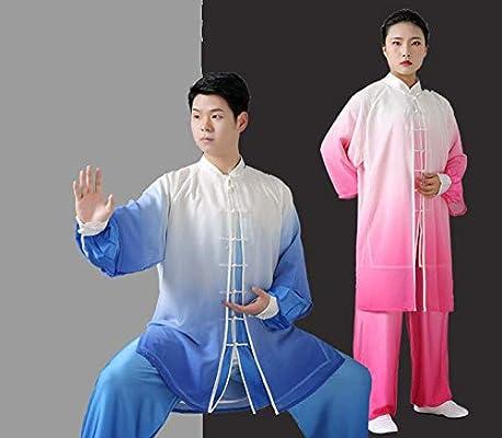 Amazon.com: JHDUID Tai Chi Uniforme Mujer Hombres Wudang Tai ...