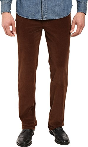 Brown Stretch Corduroy - 6