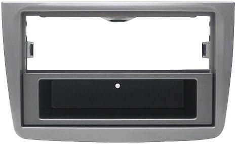 Phonocar 3/207 - Marco embellecedor para radio de coche Alfa Romeo Mito (modelos desde 2011, norma ISO y 2 DIN) (importado)