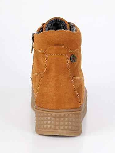 Zapatillas De Refresh Para Mujer Camel Tela YfZZnq