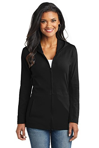 Port Authority Women's Modern Stretch Cotton Full Zip Jacket 4XL (Cotton Stretch Jacket)