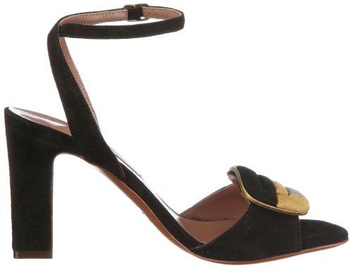 B751 L'Autre Denim Chose Sandalo Fashion Donna Nero Sandals Womens Schwarz xpawPFxq