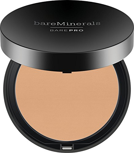 bareMinerals Barepro Performance Wear Powder Foundation, Golden Nude, 0.35 Ounce
