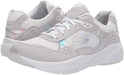 SKECHERS(スケッチャーズ) レディース 女性用 シューズ 靴 スニーカー 運動靴 Meridian - No Worries - Natural/White Hologram 9 B - Medium [並行輸入品]