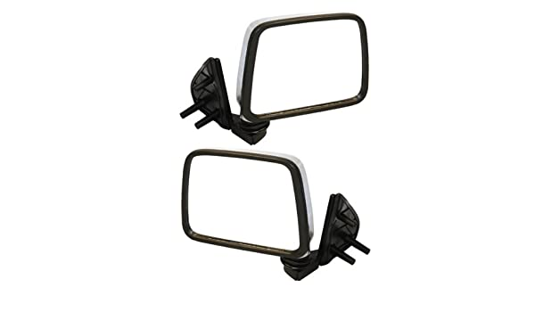 NEW Manual Black Door Mirror Right Passenger Side For D21 Hardbody Pickup Truck