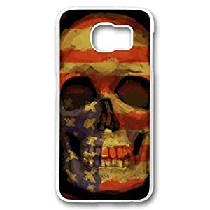 KOKOJIA Case for Samsung galaxy S6 PC, The American Flag Stylish Durable Case for Samsung galaxy S6 PC