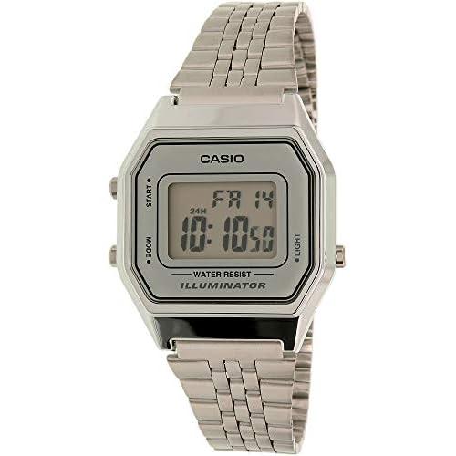 Casio Ladies Mid-Size Silver...