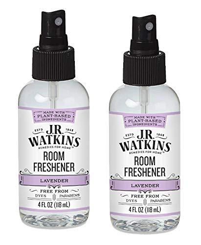 J.R. Watkins Room Freshener Lavender – 4 fl oz – Pack of 2