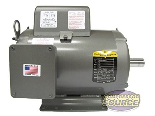 Baldor L1510T General Purpose AC Motor, Single Phase, 215T Frame, OPEN Enclosure, 7-1/2Hp Output, 1725rpm, 60Hz, 230V Voltage by Baldor