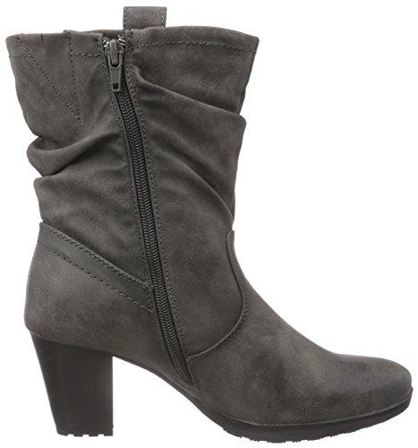 Jane Klain 263 063 - botas de caño bajo de material sintético mujer gris - Grau (Dk.Grey 258)