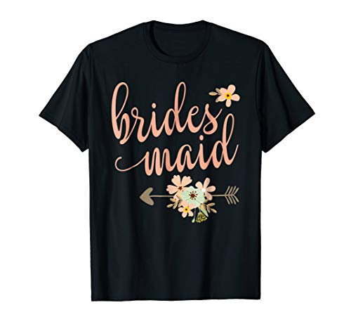 Bridesmaid T-Shirt - Wedding Party Shirt