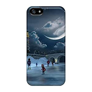 Fashion Case Cover For Iphone 5/5s(wintertime)
