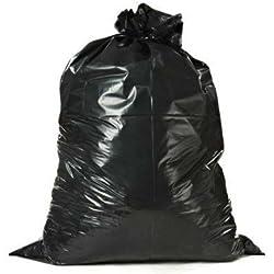 "Toughbag 55-60 Gallon Contractor Trash Bags, 38""W x 58""H, 3.0 Mil (32, Black)"