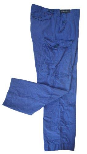 Polo Ralph Lauren Men's Canadian Cargo Pants-VintageBlue-38W X (Lauren Flap Pocket Jeans)
