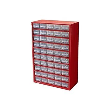 Vidaxl 41 Tiroirs Armoire Module Casier De Rangement Plastique 31