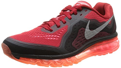 Pnch Shoes 2014 Mens Silver Rflct Max Air hypr Red Gym Running Nike aqXPHx