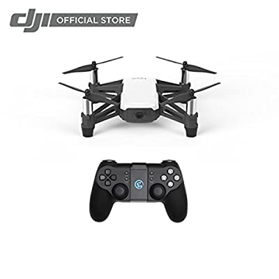Ryze Tech Tello - Mini Drone Quadcopter UAV for Kids Beginners 5MP Camera HD720 Video 13min Flight Time Education Scratch Programming Toy Selfies, Powered by DJI, White: Camera & Photo