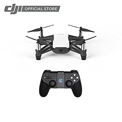 Tello Quadcopter Drone with HD Camera and VR,Powered by DJI Technology and  Intel Processor,Coding Education,DIY Accessories,Throw and Fly (with