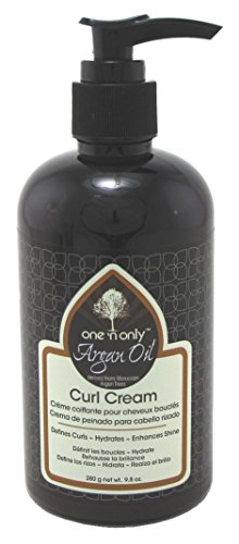 One N Only Argan Oil Curl Cream 10oz Pump Leave-In 3 Pack