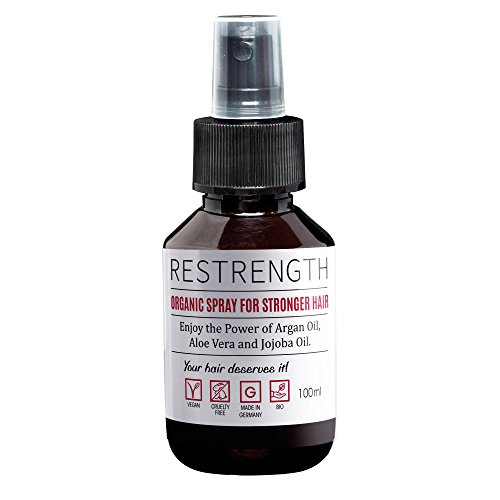 Hair loss treatment by Restrength | Hair strengthening 100ml spray | Alternative to hair loss tablets, hair loss shampoo & hair strengthening serum (Best Homemade Treatment For Hair Loss)