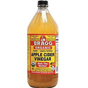 Amazon.com : Bragg Apple Cider Vinegar Honey Organic, 32