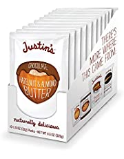 Chocolate Hazelnut Butter by Justin's, Organic Cocoa, No Stir, Gluten-free, Responsibly Sourced