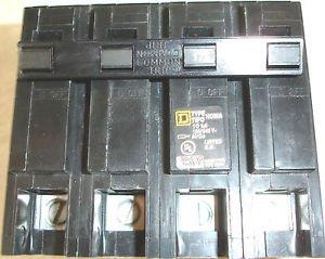 - Square D Homeline HOM2175 175 amp 4 Pole Main Circuit Breaker