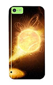 Crazinesswith Premium Protective Hard Case For Iphone 5c- Nice Design - Planet Being Sucked In The Black Hole