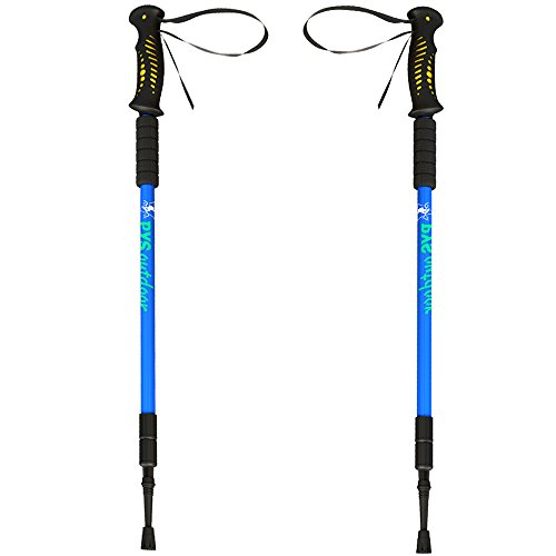 pys Trekking Telescopic Walking Poles - Adjusta...