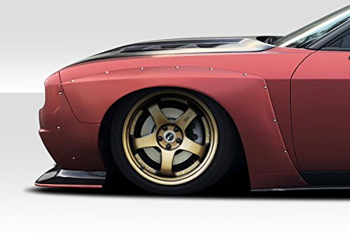 Duraflex ED-NPG-145 Circuit Front Fenders - 4 Piece Body Kit - Compatible For Dodge Challenger 2008-2018