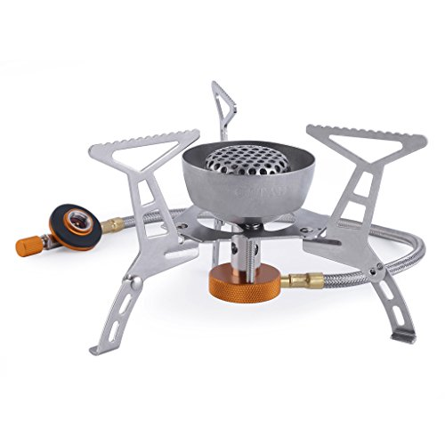 OUTAD Windproof Foldable Camping Stove for Outdoor Backpacking Hiking