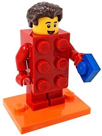 LEGO Chico con disfraz de brick de: Amazon.es: Juguetes y juegos