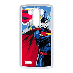 LG G3 Cell Phone Case White Honor Superman J1Q1FQ