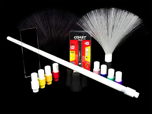 Light Painting Brushes Deluxe Starter Kit - Green
