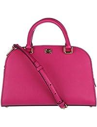 Dolce&Gabbana women's leather handbag shopping bag purse isabella fucsia