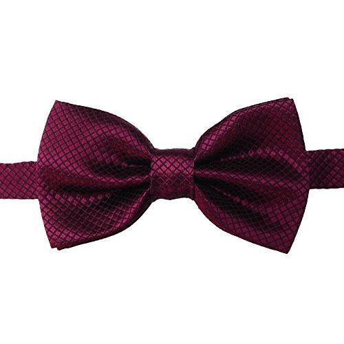 Men Necktie Wedding Tuxedo Bow Tie Classic Various Color Formal Business Party Bowtie (K)