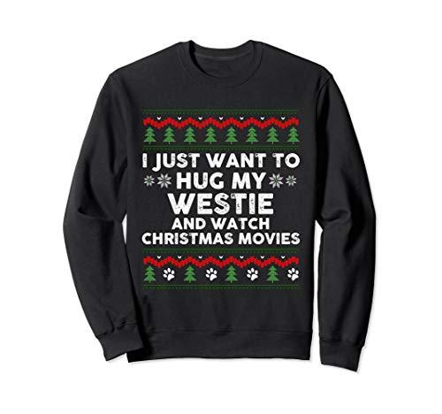 (Westie Christmas Sweatshirt Xmas Pajama Gift)