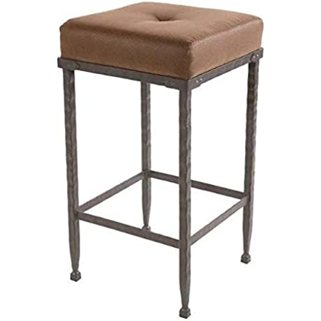 Forest Hill Backless Barstool 30 In Std Faux Leather In Emu Wheat 205398 OG 69845 O 279804 OG 142811 O 759471