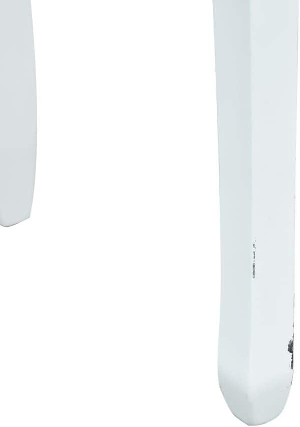 80 x 40 x 74 cm Colore: Bianco Tavolo consolle in Legno vidaXL