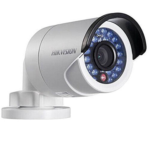 (Hikvision V5.3.0 DS-2CD2032F-I Replace DS-2CD2032-I 3MP 1080P Poe with SD Card Slot IR IP Network CCTV Camera Multi-language 4mm)