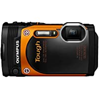 Olympus TG-860 Tough Waterproof Digital Camera with 3-Inch LCD (Orange) Overview Review Image