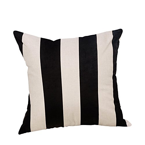 """SIXSTARS 18"""" x 18"""" Square Throw Pillow Case You Are My Sunshine (18"""" x 18"""", Black and White) from SIXSTARS"""
