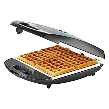 Oster CKSTWF40WC-IECO Waffle maker, White/Charcoal