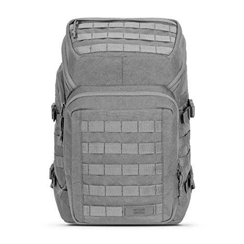 Mission Critical Diaper Bag Backpack - System 01 - Diaper Bag Backpack for the Intrepid Dad - Gray