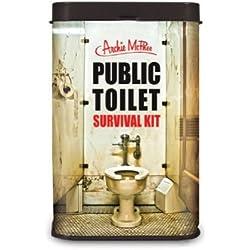 Public Toilet Survival Kit Novelty Gift