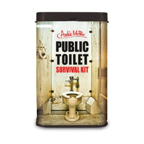 Public Toilet Survival Novelty Gift