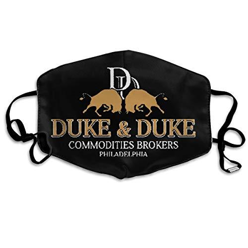 Hidreama Trading Places Duke And Duke Mask- Stitch Reusable Face Mask For Men Women Dustproof Mouth Mask