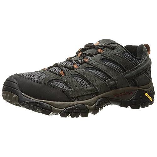 Merrell Men's Moab 2 Vent Hiking Shoe, Beluga, 8 M US
