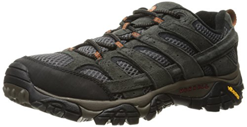 Mens Athletic Waterproof Boots - Merrell Men's Moab 2 Vent Hiking Shoe, Beluga, 11 M US